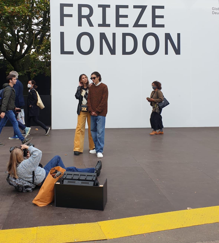 Frieze London 2021; Foto Stefan Kobel
