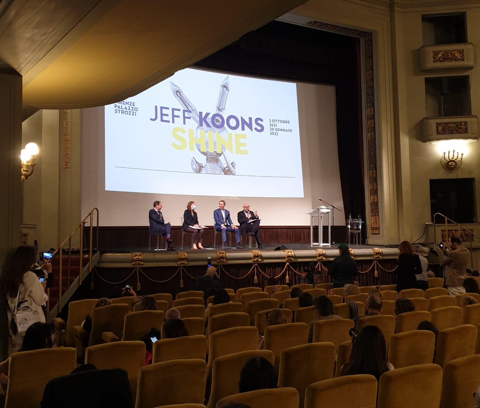 Jeff Koons in Florenz; Foto Stefan Kobel